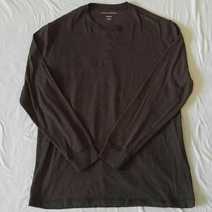 Saddlebred Long Sleeve Henley